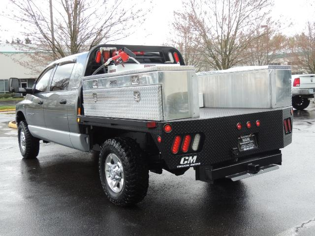 2006 Dodge Ram 2500 SLT 4dr Mega Cab / 4X4 / 5.9L DIESEL / FLAT BED - Photo 9 - Portland, OR 97217