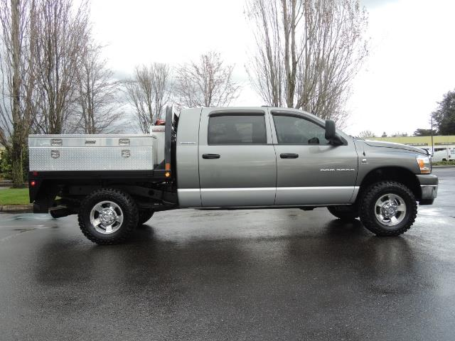 2006 Dodge Ram 2500 SLT 4dr Mega Cab / 4X4 / 5.9L DIESEL / FLAT BED - Photo 4 - Portland, OR 97217