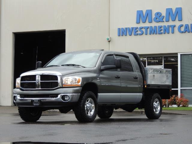 2006 Dodge Ram 2500 SLT 4dr Mega Cab / 4X4 / 5.9L DIESEL / FLAT BED - Photo 1 - Portland, OR 97217