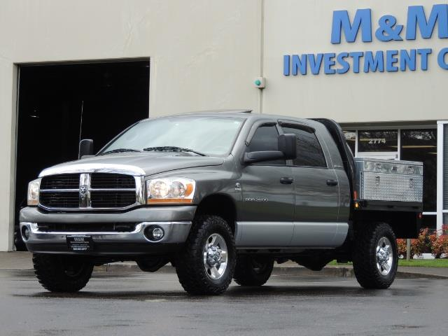 2006 Dodge Ram 2500 SLT 4dr Mega Cab / 4X4 / 5.9L DIESEL / FLAT BED - Photo 40 - Portland, OR 97217
