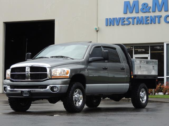 2006 Dodge Ram 2500 SLT 4dr Mega Cab / 4X4 / 5.9L DIESEL / FLAT BED - Photo 49 - Portland, OR 97217