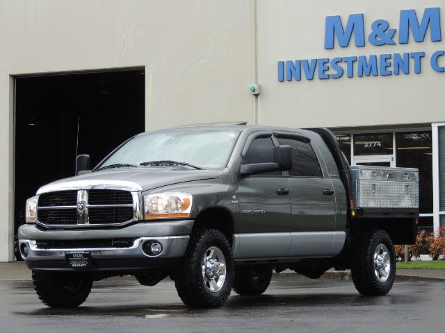2006 Dodge Ram 2500 SLT 4dr Mega Cab / 4X4 / 5.9L DIESEL / FLAT BED - Photo 44 - Portland, OR 97217
