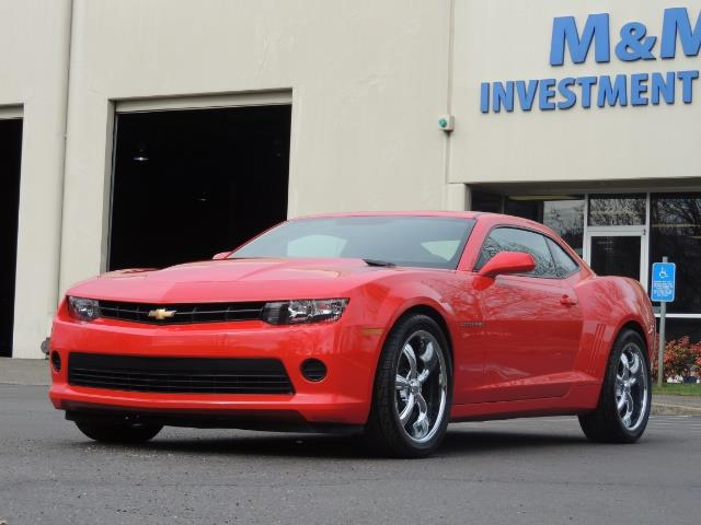 2014 Chevrolet Camaro LS / Coupe / 3.6 Liter 6Cyl / ONLY 9000 MILES - Photo 36 - Portland, OR 97217