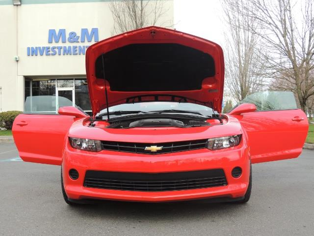 2014 Chevrolet Camaro LS / Coupe / 3.6 Liter 6Cyl / ONLY 9000 MILES - Photo 27 - Portland, OR 97217
