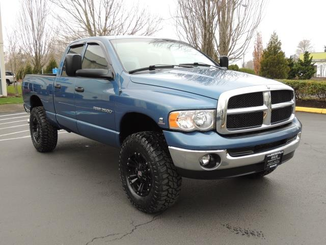 2004 dodge ram 2500 slt 4x4 5 9l cummins diesel 6 speed lifted. Black Bedroom Furniture Sets. Home Design Ideas