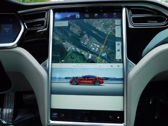2013 Tesla Model S 85K / Leather / Tech  Pkg / Active air suspension - Photo 19 - Portland, OR 97217