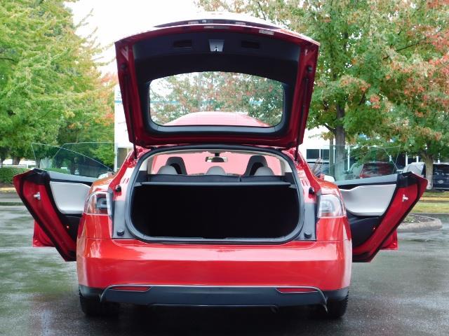 2013 Tesla Model S 85K / Leather / Tech  Pkg / Active air suspension - Photo 28 - Portland, OR 97217