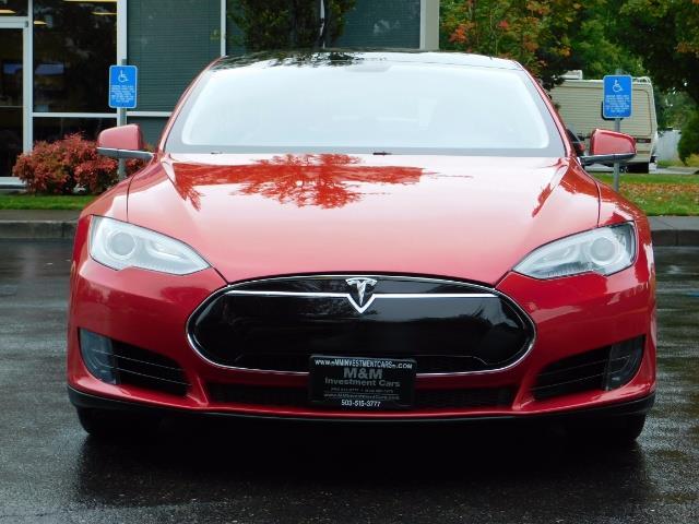 2013 Tesla Model S 85K / Leather / Tech  Pkg / Active air suspension - Photo 5 - Portland, OR 97217