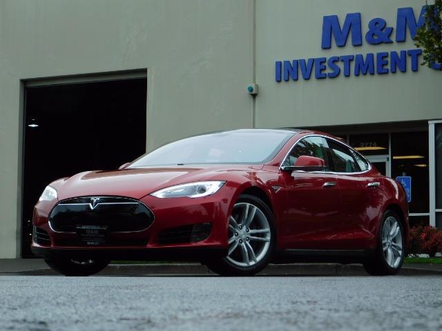 2013 Tesla Model S 85K / Leather / Tech  Pkg / Active air suspension - Photo 46 - Portland, OR 97217