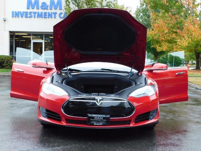 2013 Tesla Model S 85K / Leather / Tech  Pkg / Active air suspension - Photo 31 - Portland, OR 97217