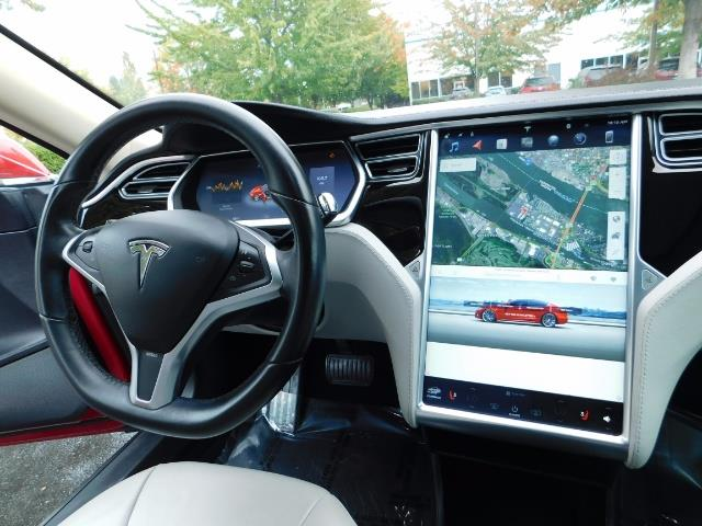 2013 Tesla Model S 85K / Leather / Tech  Pkg / Active air suspension - Photo 18 - Portland, OR 97217