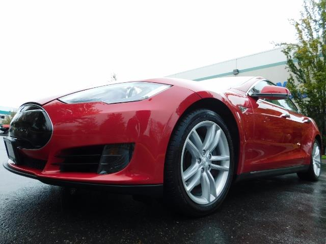 2013 Tesla Model S 85K / Leather / Tech  Pkg / Active air suspension - Photo 9 - Portland, OR 97217