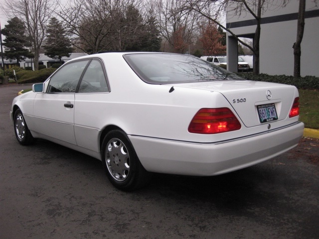 1996 mercedes benz s500 coupe super luxury pristine rare for 1996 mercedes benz s500
