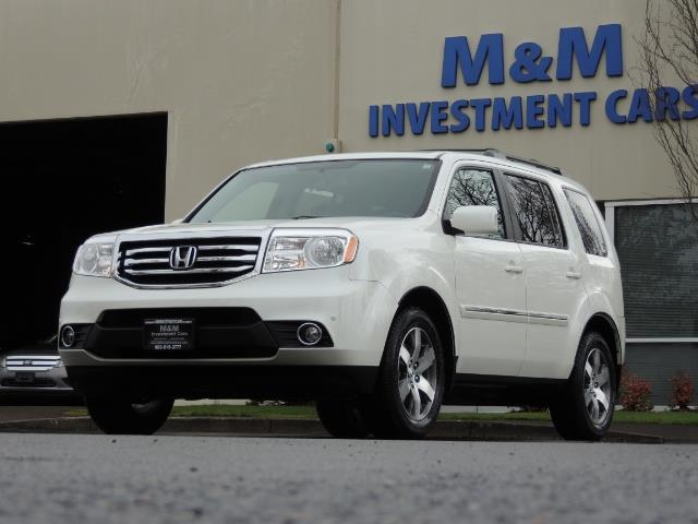 2013 Honda Pilot Touring /4WD / Navi / DVD / Third Seats / 1-OWNER - Photo 40 - Portland, OR 97217