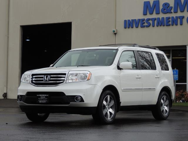 2013 Honda Pilot Touring /4WD / Navi / DVD / Third Seats / 1-OWNER - Photo 1 - Portland, OR 97217