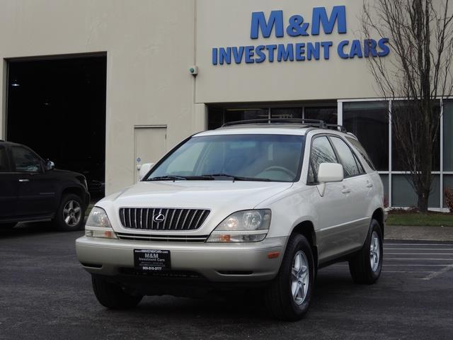 1999 Lexus RX 300 / AWD / Leather / Sunroof / Great Conditon - Photo 1 - Portland, OR 97217