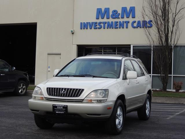 1999 Lexus RX 300 / AWD / Leather / Sunroof / Great Conditon - Photo 41 - Portland, OR 97217