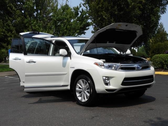 2011 Toyota Highlander Limited Hybrid 4WD 2-Owner 85Kmiles 3rdRow Leather - Photo 29 - Portland, OR 97217