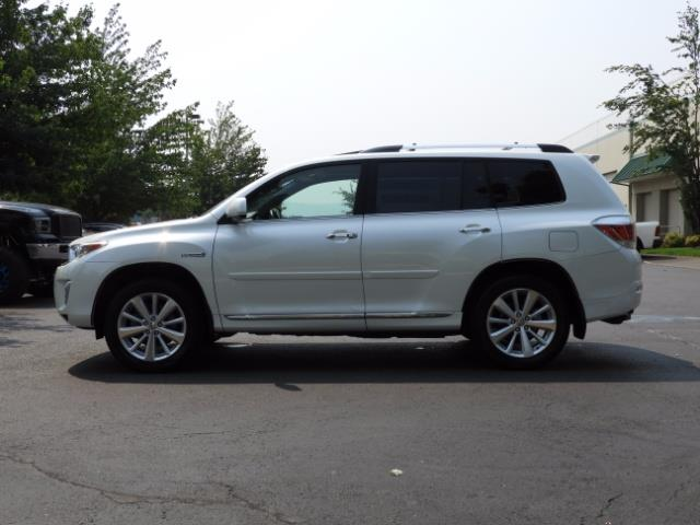 2011 Toyota Highlander Limited Hybrid 4WD 2-Owner 85Kmiles 3rdRow Leather - Photo 4 - Portland, OR 97217