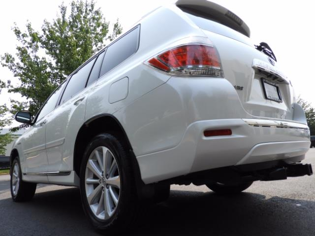 2011 Toyota Highlander Limited Hybrid 4WD 2-Owner 85Kmiles 3rdRow Leather - Photo 23 - Portland, OR 97217