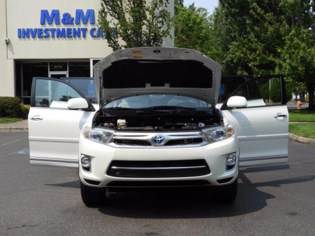 2011 Toyota Highlander Limited Hybrid 4WD 2-Owner 85Kmiles 3rdRow Leather - Photo 30 - Portland, OR 97217