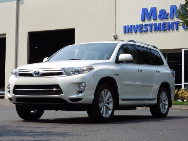 2011 Toyota Highlander Limited Hybrid 4WD 2-Owner 85Kmiles 3rdRow Leather - Photo 1 - Portland, OR 97217