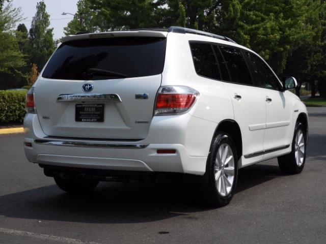 2011 Toyota Highlander Limited Hybrid 4WD 2-Owner 85Kmiles 3rdRow Leather - Photo 8 - Portland, OR 97217