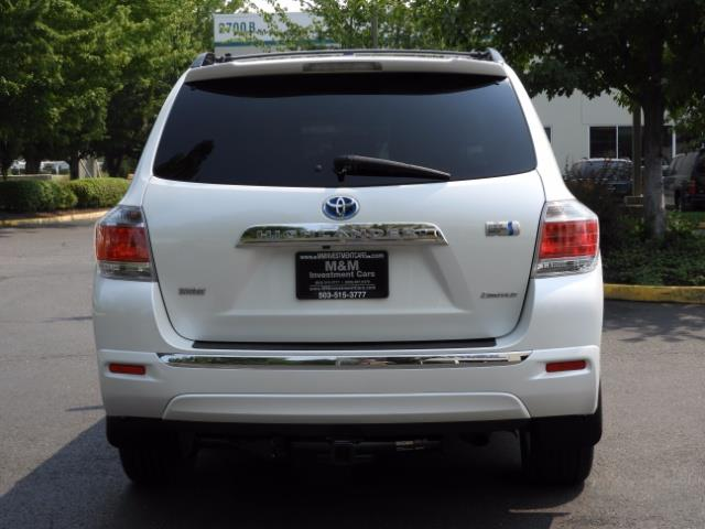2011 Toyota Highlander Limited Hybrid 4WD 2-Owner 85Kmiles 3rdRow Leather - Photo 7 - Portland, OR 97217