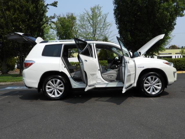 2011 Toyota Highlander Limited Hybrid 4WD 2-Owner 85Kmiles 3rdRow Leather - Photo 9 - Portland, OR 97217
