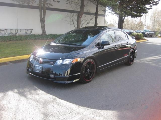 2008 Honda Civic Si 6 Speed All Custom Sport Kit Rims 1 Owner