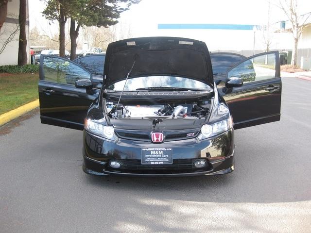 2008 honda civic si manual transmission