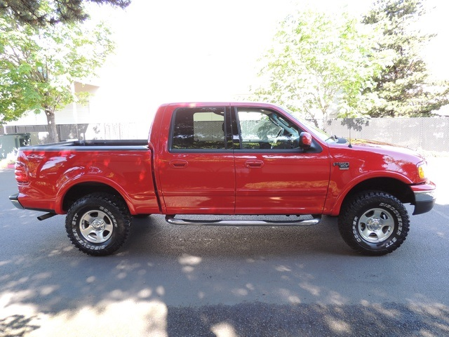 2002 ford f 150 xlt 4x4 crew cab 33inc mud tires. Black Bedroom Furniture Sets. Home Design Ideas