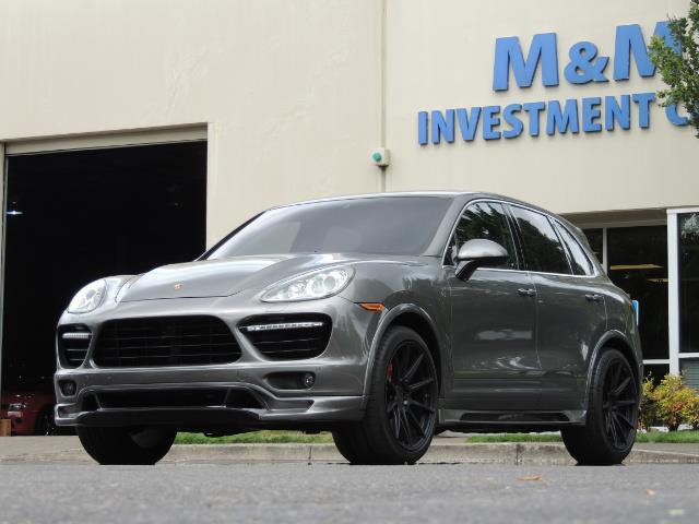 2014 Porsche Cayenne Turbo S / Panoramic Roof/ Burmester/  Niche Wheels - Photo 1 - Portland, OR 97217