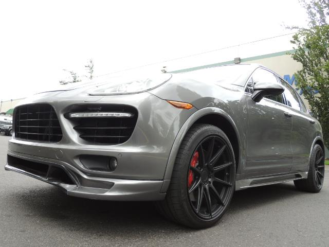 2014 Porsche Cayenne Turbo S / Panoramic Roof/ Burmester/  Niche Wheels - Photo 10 - Portland, OR 97217