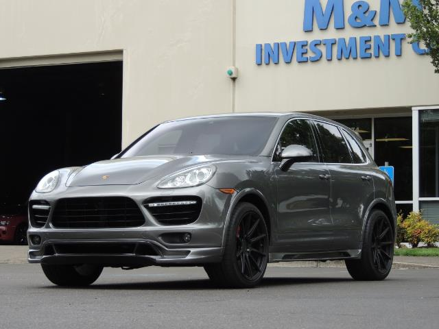 2014 Porsche Cayenne Turbo S / Panoramic Roof/ Burmester/  Niche Wheels - Photo 51 - Portland, OR 97217