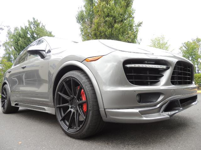 2014 Porsche Cayenne Turbo S / Panoramic Roof/ Burmester/  Niche Wheels - Photo 9 - Portland, OR 97217