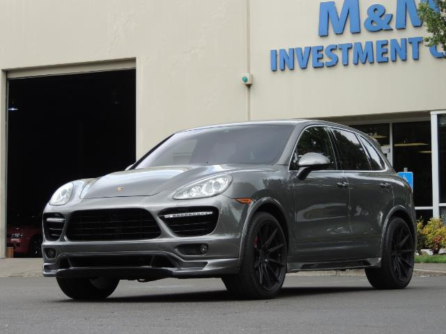 2014 Porsche Cayenne Turbo S / Panoramic Roof/ Burmester/  Niche Wheels - Photo 52 - Portland, OR 97217