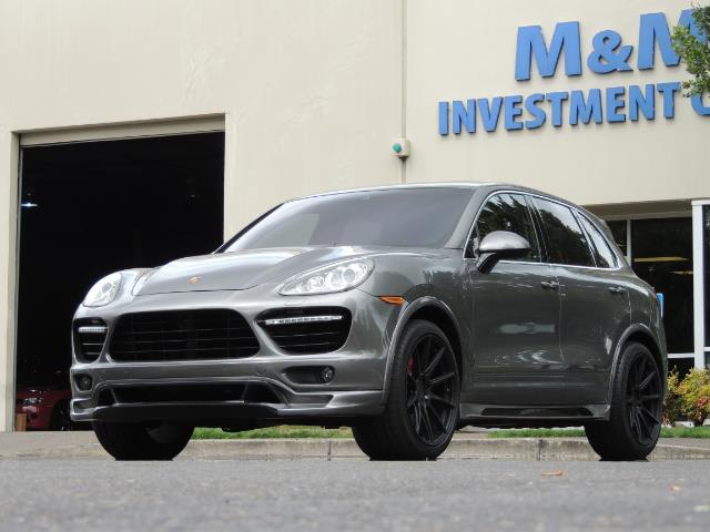 2014 Porsche Cayenne Turbo S / Panoramic Roof/ Burmester/  Niche Wheels - Photo 50 - Portland, OR 97217