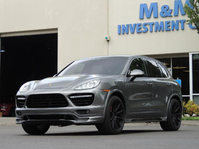 2014 Porsche Cayenne Turbo S / Panoramic Roof/ Burmester/  Niche Wheels - Photo 49 - Portland, OR 97217