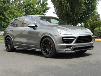 2014 Porsche Cayenne Turbo S / Panoramic Roof/ Burmester/  Niche Wheels SUV