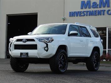 2015 Toyota 4Runner SR5 4WD / V6 / FACTORY WARRANTY / LIFTED !! SUV