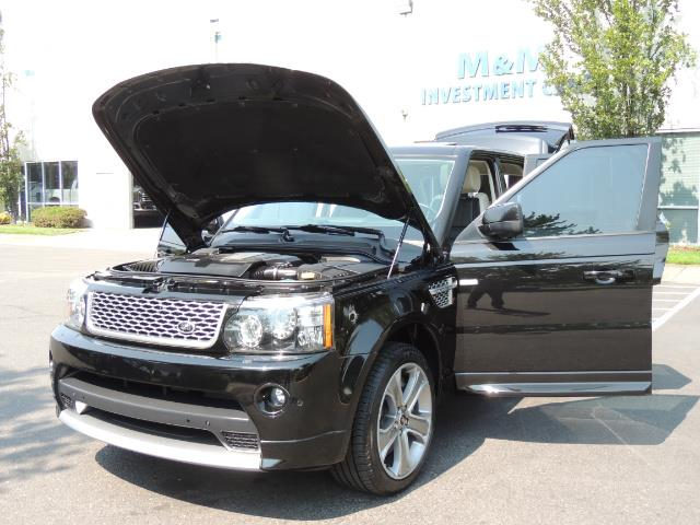 2013 Land Rover Range Rover Sport Autobiography / Sport / Supercharged / 1-OWNER - Photo 25 - Portland, OR 97217