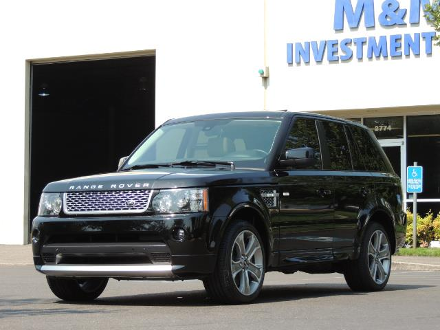 2013 Land Rover Range Rover Sport Autobiography / Sport / Supercharged / 1-OWNER - Photo 52 - Portland, OR 97217