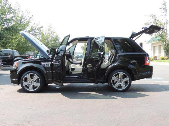 2013 Land Rover Range Rover Sport Autobiography / Sport / Supercharged / 1-OWNER - Photo 26 - Portland, OR 97217