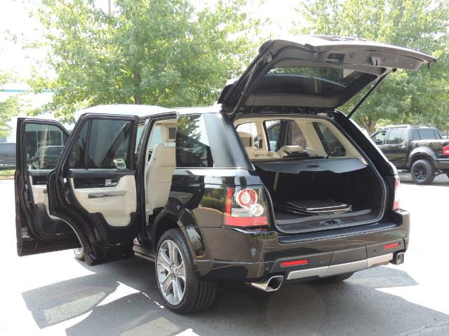 2013 Land Rover Range Rover Sport Autobiography / Sport / Supercharged / 1-OWNER - Photo 27 - Portland, OR 97217