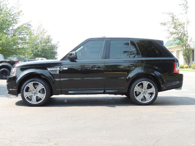 2013 Land Rover Range Rover Sport Autobiography / Sport / Supercharged / 1-OWNER - Photo 3 - Portland, OR 97217