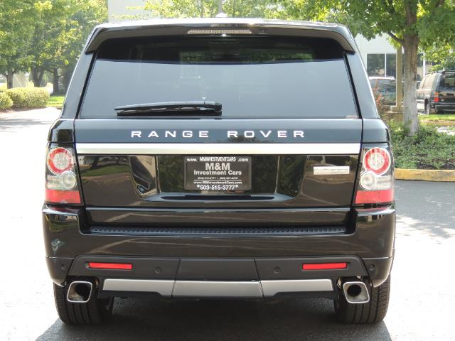 2013 Land Rover Range Rover Sport Autobiography / Sport / Supercharged / 1-OWNER - Photo 6 - Portland, OR 97217