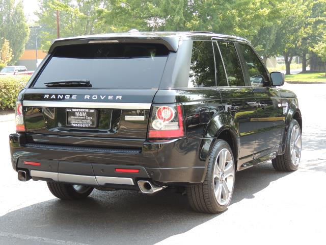 2013 Land Rover Range Rover Sport Autobiography / Sport / Supercharged / 1-OWNER - Photo 8 - Portland, OR 97217