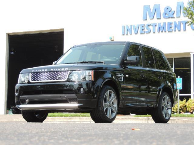 2013 Land Rover Range Rover Sport Autobiography / Sport / Supercharged / 1-OWNER - Photo 55 - Portland, OR 97217