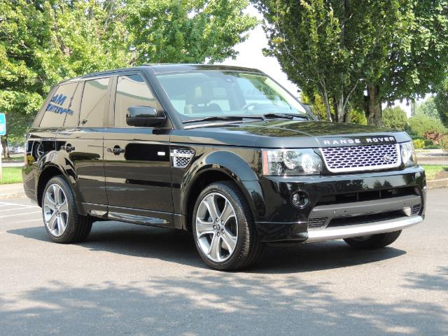 2013 Land Rover Range Rover Sport Autobiography / Sport / Supercharged / 1-OWNER - Photo 2 - Portland, OR 97217